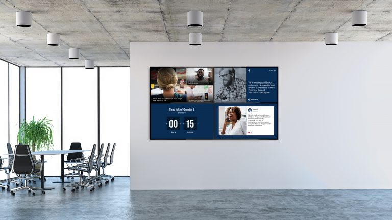 Appspace Video Wall