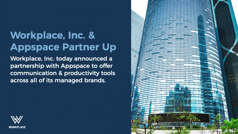partnership announcement card appspace