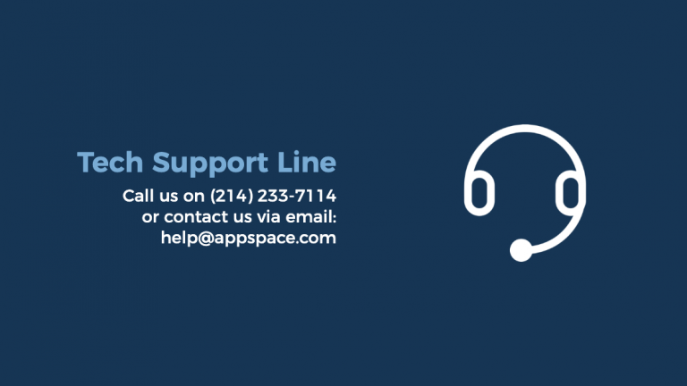 get support card appspace